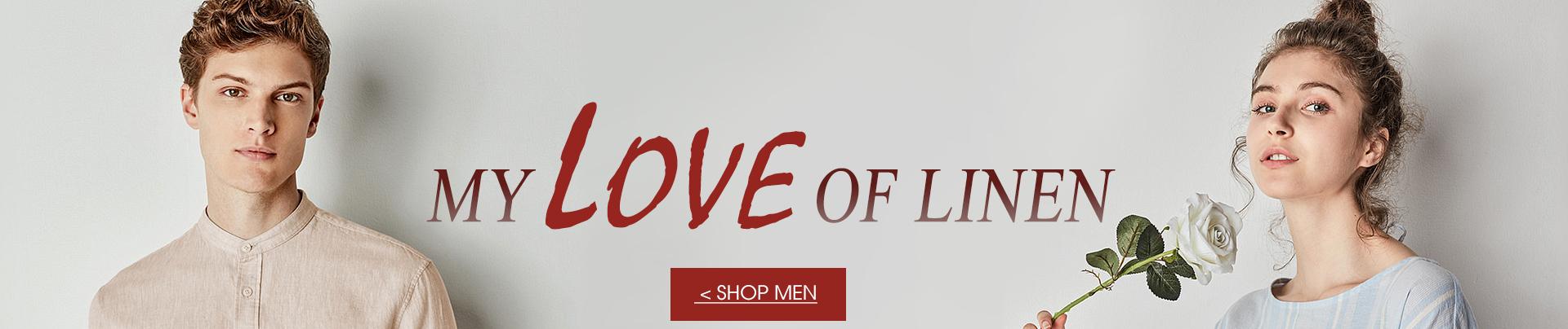 Men's linen collection