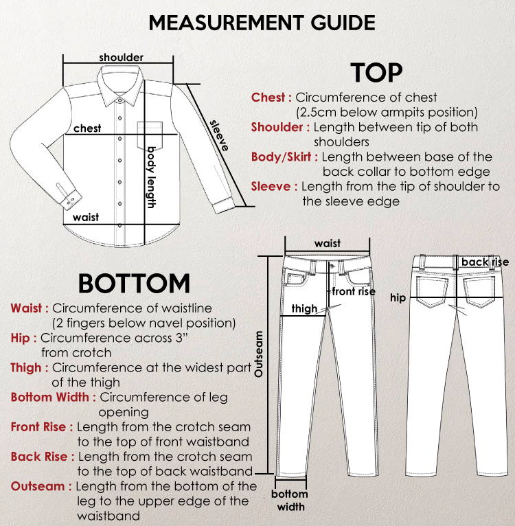 measurement guide