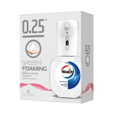 自動泡沫洗手液機連威露士泡沫殺菌洗手液專用補充裝(敏感呵護-350ml)1盒