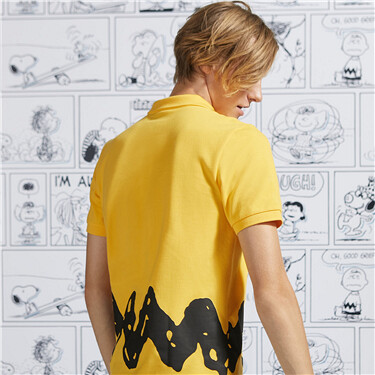 PEANUTS Polo for Men