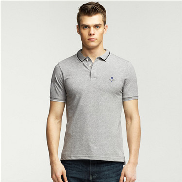 Classic man embroidery polo