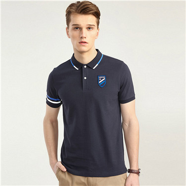 Men Sport embroidery polo