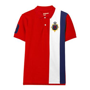 Union Jack Embroidery Polo
