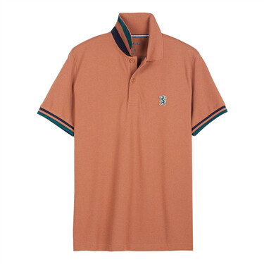 Small Lion Embroidery Polo