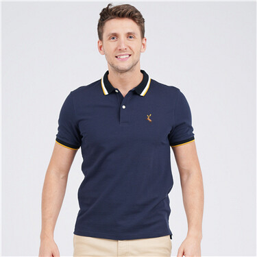 Deer Embroidery Polo