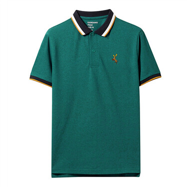 Deer Embroidery Polo For Men