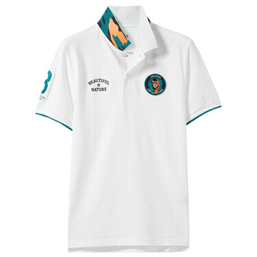 Amazon series embroidery polo shirt