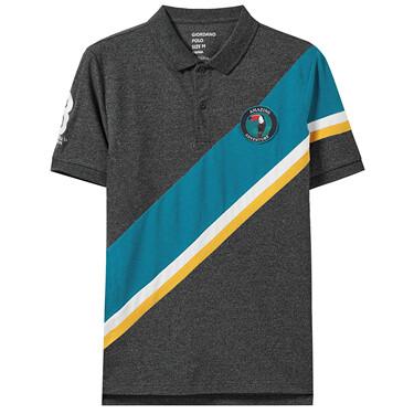 Amazon series embroidery polo shirt