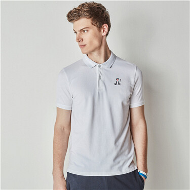 Monkey Embroidery POLO