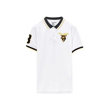 Women Napoleon Embroidery Polo
