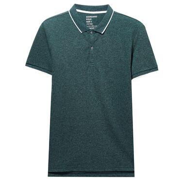 Pique Short Sleeve Polo Slim Shirt