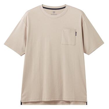 男裝素色口袋T恤
