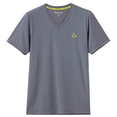 男裝 G-MOTION V領短袖T恤