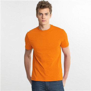 Solid crewneck basic tee (Men)