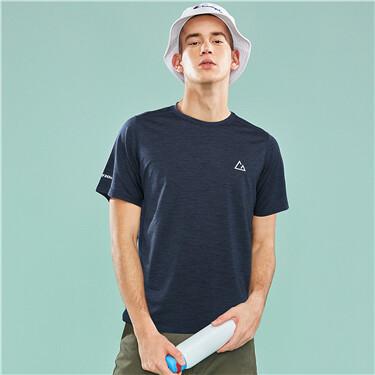 Mens G-MOTION crewneck T-shirt