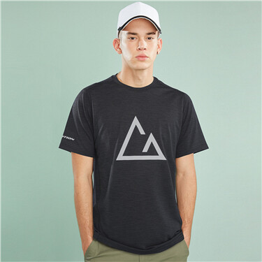 Mens G-MOTION crewneck T-shirt