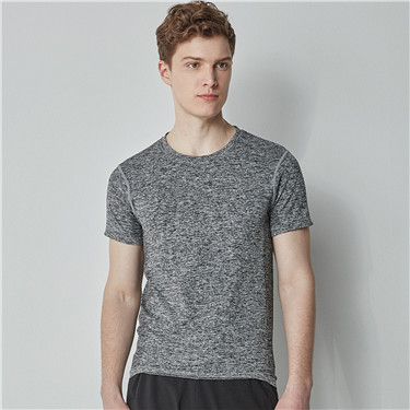 G-motion COOLMAX crewneck short sleeves tee