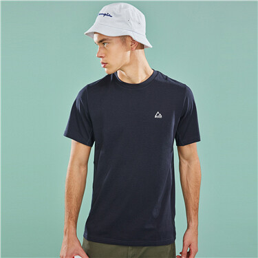 Mens G-MOTION fast dry badge tee