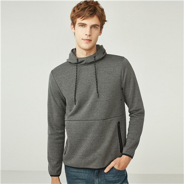 G-Motion interlock hooded pullover