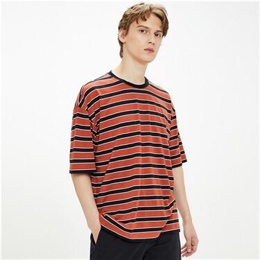 纯棉圆领短袖T恤
