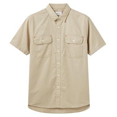 男裝短袖工裝恤衫
