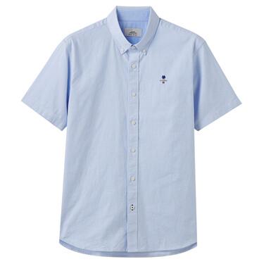 男裝Oxfford短袖襯衫