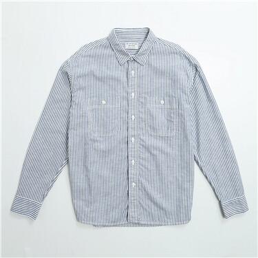 男裝純棉長袖恤衫