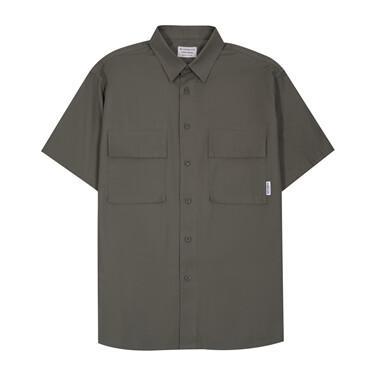男裝工裝風短袖恤衫