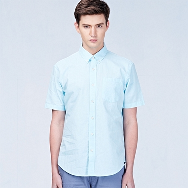 Oxford slim pocket shirt