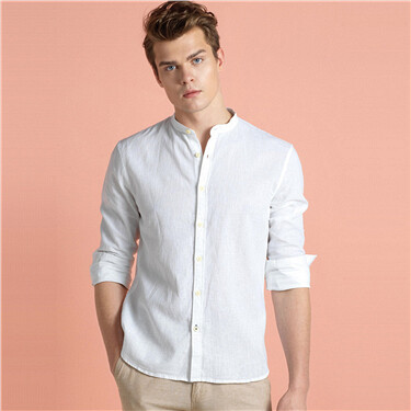 Linen-cotton shirt