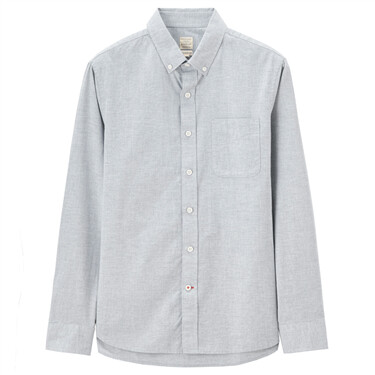 Chambray long sleeve shirt (Men)