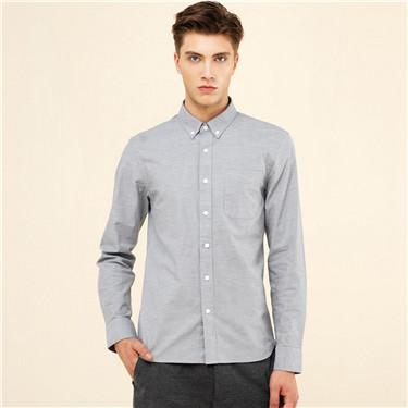 Stretchy oxford shirt