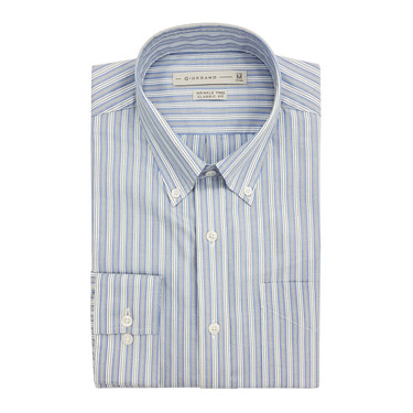 Wrinkle free long sleeve shirts