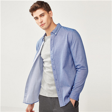 Slim fit long sleeves shirt