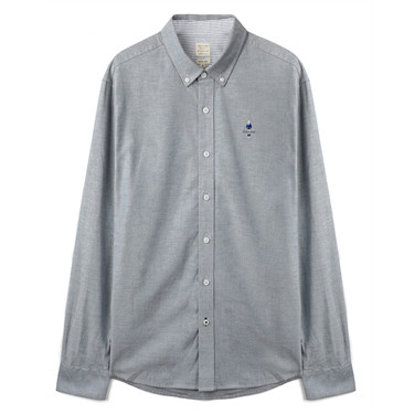 Classic men stretchy oxford shirts
