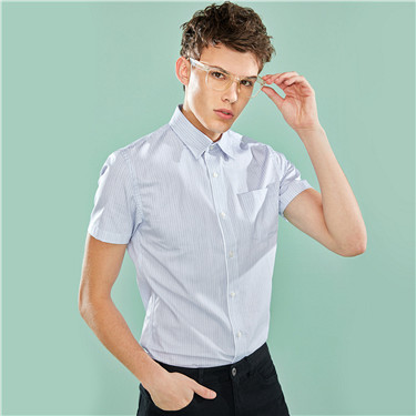 Slim pocket shirt