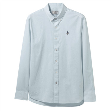 Classic men stretchy oxford shirts
