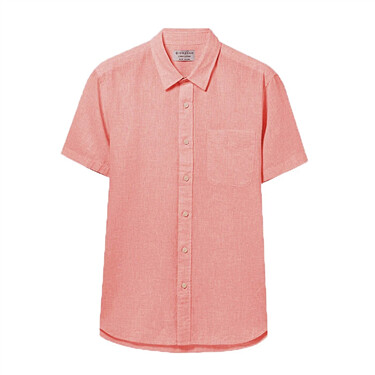 Linen Cotton Short Sleeve Shirt