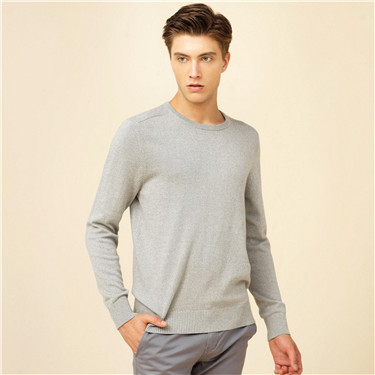 Jacquard cotton sweater