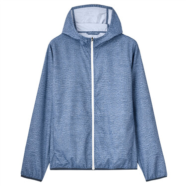 High-tech anti-uv lightweight hooded jacket