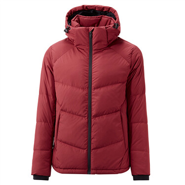 Machine washable 80% grey duck down jacket