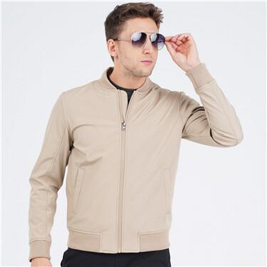 Men Polyester Soft Shell Jacket