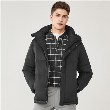 55% Grey duck down detachable down jackets