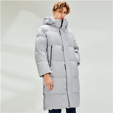 Mid-long Duck Down Jacket
