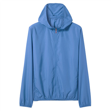 Ultra-thin hooded windbreaker