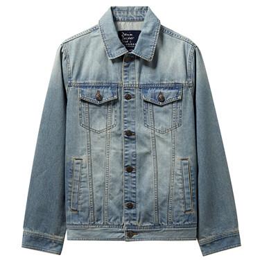 Patch pockets cargo denim jackets