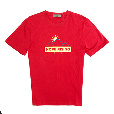 男裝純棉印花短袖T恤