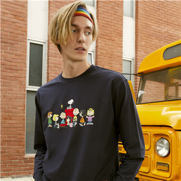 PEANUTS Sweatshirt for Men