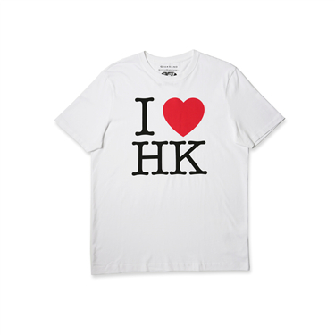 男裝I LOVE HK短袖T恤
