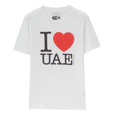 I Love UAE Graphic Tee